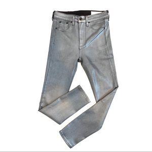 RAG & BONE | High Rise Ankle Skinny Jeans